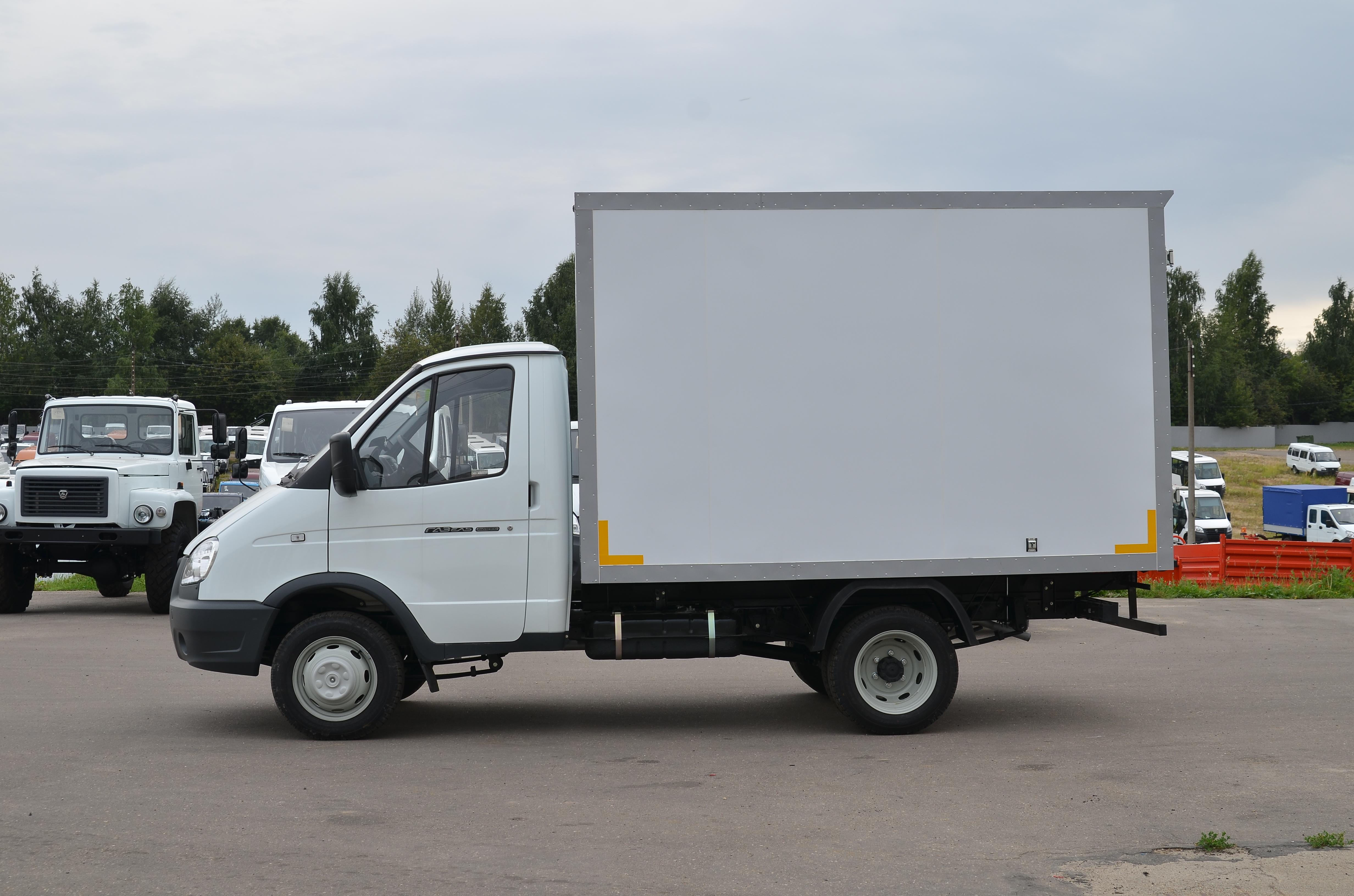 ГАЗель Next с Изотермическим фургоном